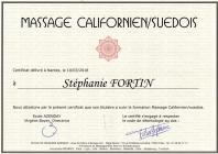 Certificat californien suedois