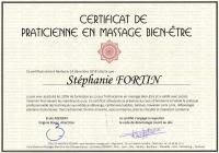 Certificat praticienne de bien etre 2