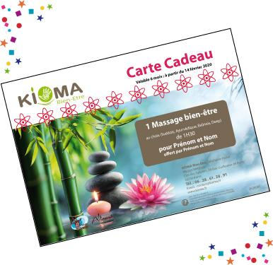 Bon cadeau massage questembert