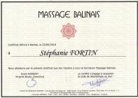 Certificat balinais