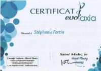 Certificat evolaxia