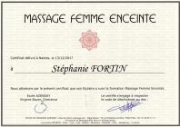 Certificat femme enceinte