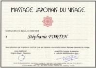 Certificat massage japonais du visage