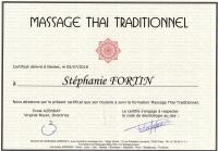 Certificat thai traditionnel