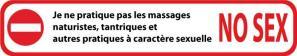 avertissement massage